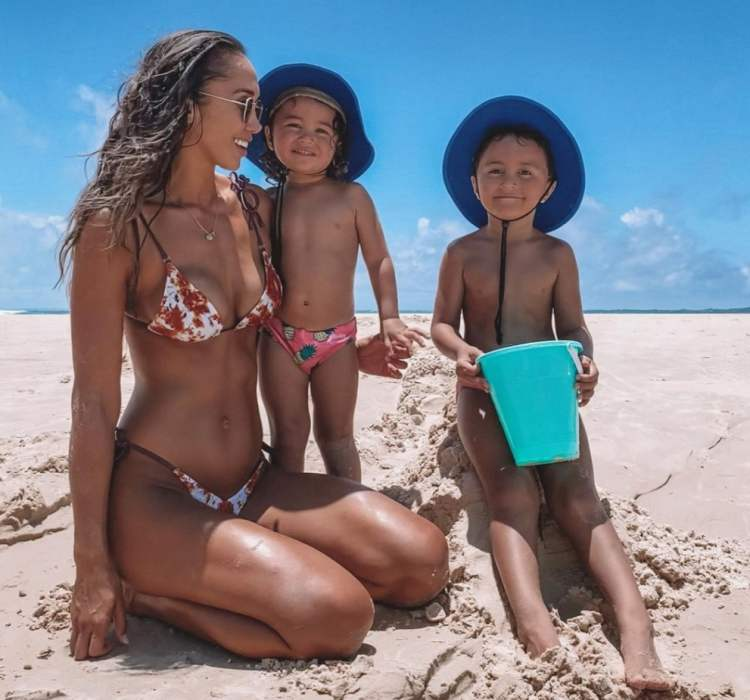 Chontel Duncan With Her Children
