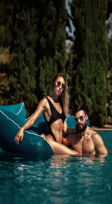 Maayan Peri With Her Husband Alexander