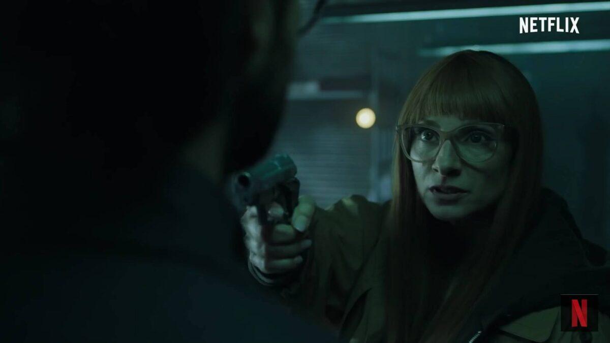 Alicia Sierra as Najwa Nimri in Money Heist