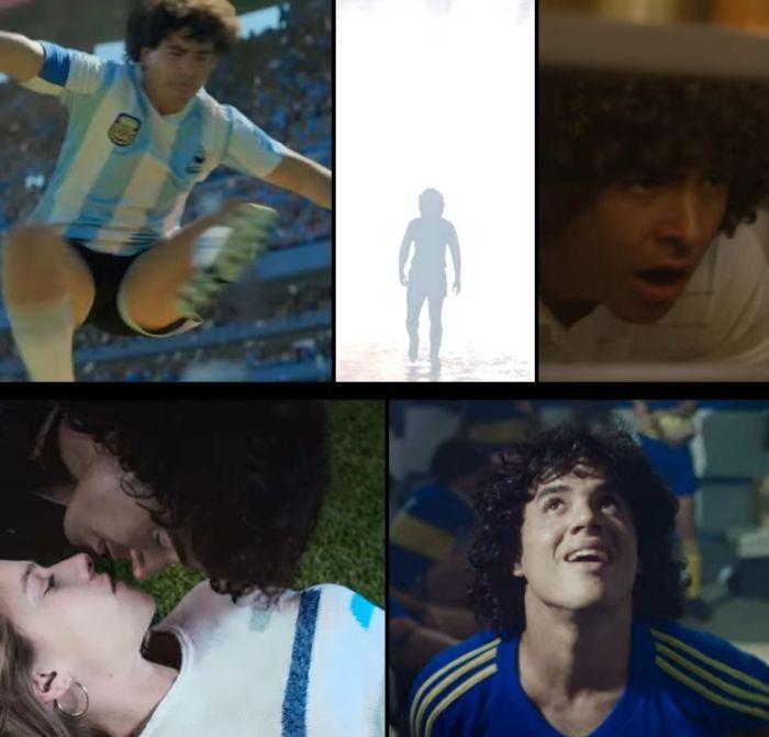 Look of various actors in the Maradona Series