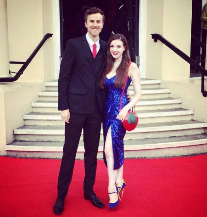 Hannah Boyce With Her Boyfriend Jack Evans