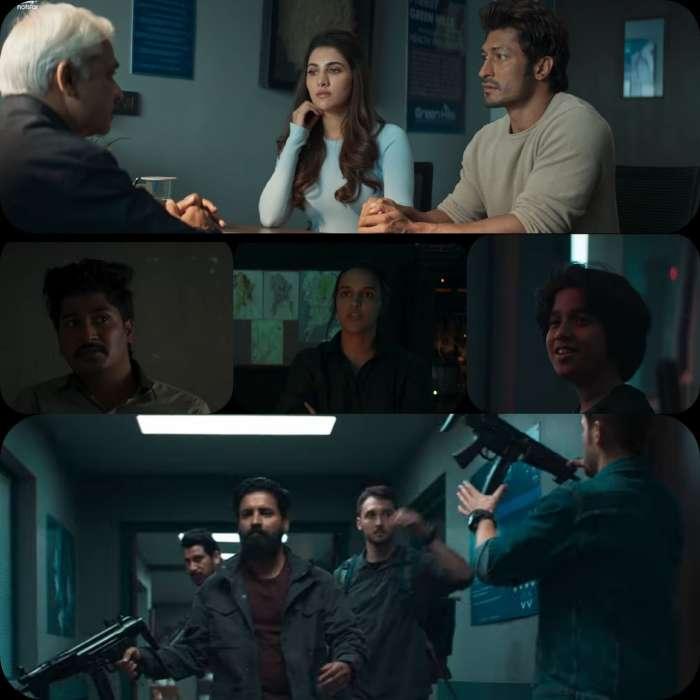 Look At Various Actors In The Sanak(2021) Movie