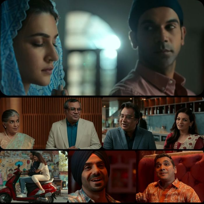 Look Of Various Actors In The HUM DO HAMARE DO Movie